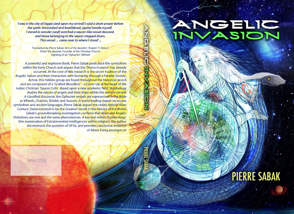 Angelic Invasion Book Cover