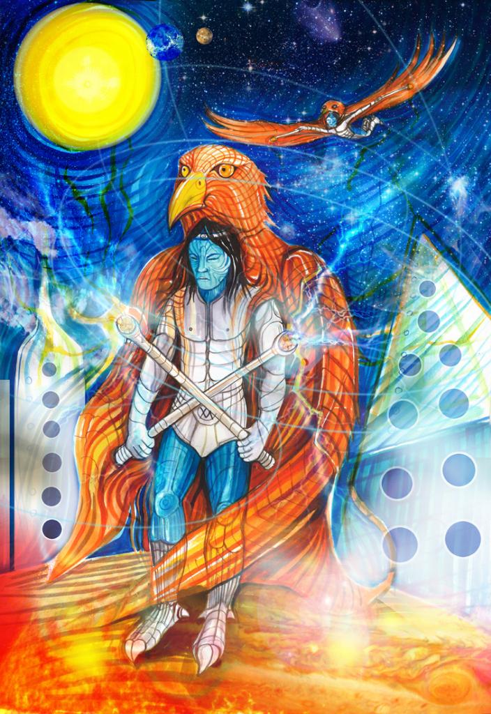 Eagle warriors of Uthorna (Aeon Rising)
