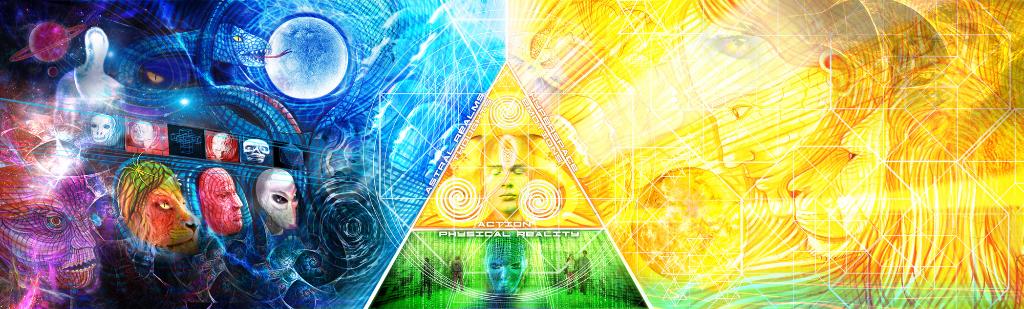 The Trivium Album Cover (inner worlds)