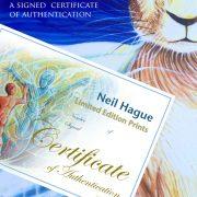 certificate of A